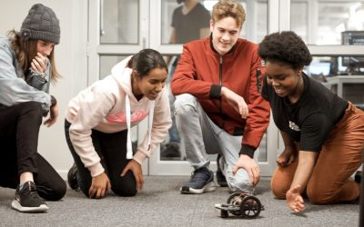 High School Robotics #RoboCampCT