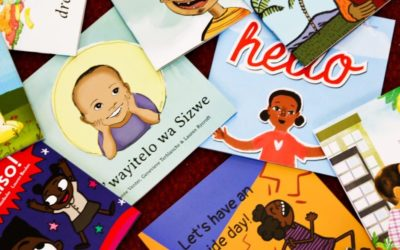 500 South African children's books free on Book Dash!