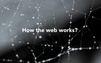 How the web works?